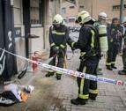Desalojados 15 vecinos por un incendio en un bar de Pamplona