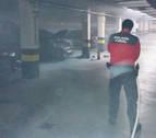 Extinguido un fuego en un garaje de Buztintxuri