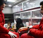 Comienza la evacuación de pacientes del asedio de Guta Oriental en Siria
