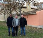 La ermita de la Virgen de Cuevas de Viana concluye su rehabilitación