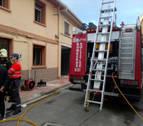 Un incendio en una vivienda de Azagra, tercer fuego en Navarra en los últimos días
