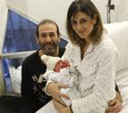 El segundo navarro del año nació en Pamplona y pesó más de 3,5 kilos