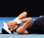 Garbiñe Muguruza abandona el torneo de Brisbane por calambres