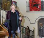 Exposición de Merche Blasco a beneficio de Villa Javier en Tudela