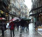 Temporal invernal en Navarra el sábado y la madrugada del domingo