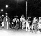 HEMEROTECA | El año en el que los gigantes de Pamplona bailaron en la cabalgata de Reyes
