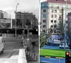 IMAGEN INTERACTIVA | Cuando cambió... la avenida de Zaragoza de Pamplona