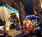 Sangüesa aporta nuevas carrozas al cortejo de la cabalgata de Reyes