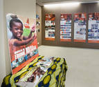 El CHN acoge una exposición sobre el Hospital de Ebomé, en Camerún