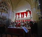 La epifanía de Reyes regresa al claustro de la seo pamplonesa