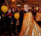 El soberanismo catalán aprovecha la cabalgata para sus reivindicaciones