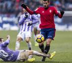 Primer penalti a favor de Osasuna tras 29 partidos