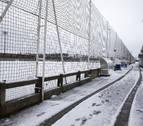 Jornada reducida en el fútbol navarro por la nieve