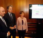 Sale a información pública un estudio sobre el tramo Pamplona-Y Vasca