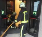 Un incendio afecta a la sauna y vestuarios del polideportivo de la UPNA