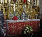 Fiesta del traslado de las reliquias con novedades en la capilla de San Fermín