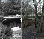 IMAGEN INTERACTIVA   Cuando cambió... el puente de la Txantrea