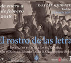 Fotografía y literatura se funden en Tudela en la muestra 'El rostro de las letras'