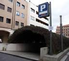 """UPN critica el """"deterioro"""" del parking de la plaza de la Constitución de Tudela"""