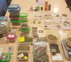 Detenido un joven por menudeo de marihuana y hachís en Ansoáin