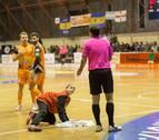 Las goteras suspendieron el duelo Aspil-Santiago, que se jugará este domingo