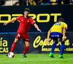 Acuerdo entre Osasuna y Miguel Díaz para la rescisión de su contrato