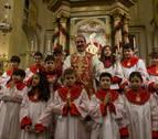 La Corte de San Fermín arropa a su patrón