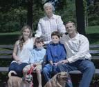 Una fotógrafa profesional les hace una foto de familia que ya es viral