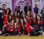 Iñigo Baigorri y Patricia Lacalle participan en el éxito de la selección navarra cadete