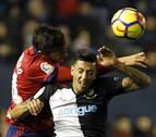Osasuna: 26 remates y ningún gol