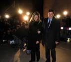 Despedida de Diana Quer en un funeral con familiares de desaparecidos