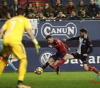 Osasuna cae ante el Nàstic en un partido que dominó pero no supo rematar