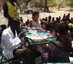 El proyecto de desarrollo en Kenia en el que participa Barañáin cumple su primer año