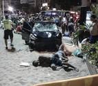 Un conductor atropella a diez personas en el paseo marítimo de Copacabana