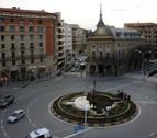A prisión dos jóvenes por robar a una persona que dormía en un cajero en Pamplona
