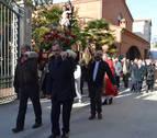 Andosilla hace un alto para arropar a San Sebastián