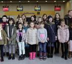 Los niños ucranianos acogidos en Navarra por Navidad vuelven a su país