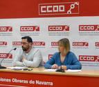 CC OO Navarra critica que