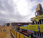 Egipto traslada el coloso de Ramsés II al nuevo museo en Guiza