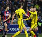 Oier entona el 'mea culpa' por la derrota de Osasuna en Huesca