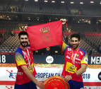 Gurbindo y Goñi se coronan con España campeones del Europeo