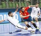 España tropieza contra Francia en su estreno en el Europeo