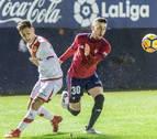 Un empate de imprecisiones entre Osasuna y Rayo