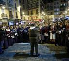 Los coros de Santa Águeda llenan el Casco Antiguo