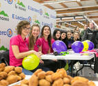 E.Leclerc Pamplona celebra San Blas con su tradicional chocolatada