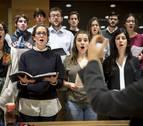 El coro de la Universidad de Navarra hace de la voz música
