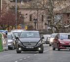Las multas de tráfico en Estella se reducen casi a la mitad en 10 años