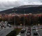 El jueves por la mañana podría llegar la nieve a Pamplona