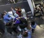 Alumnos de la UNAV organizan un simulacro de atentado en el campus