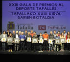 Tafalla aplaude la constancia y el esfuerzo de sus deportistas
